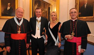 Pranzo di Gala Reale 2011 dell'Ordine Costantiniano