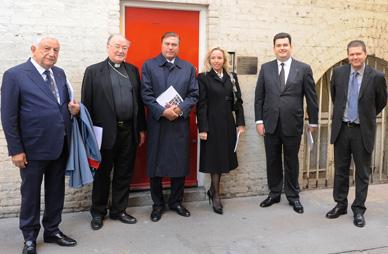 """Il Gran Maestro e il Gran Priore in visita al Centro """"The Passage"""" per i senza tetto"""