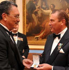 Prime Minister of St Lucia awarded