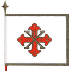 La Bandiera dei Delegate Del Sacro Militare Ordine Costantiniano di San Giorgio