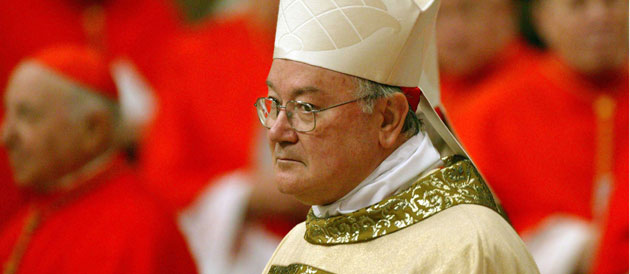 Cardinal Martino invested Knight  of St Januarius