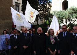 Bourbon-Two Sicilies Royal Family visit Southern Italy
