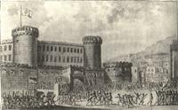 I lazzari assaltano Castelnuovo
