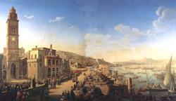 Pius IX blesses the royal couple in Gaeta
