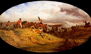 The battle of 1 October at the Volturno (Francesco Mancini)