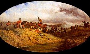La bataille du 1er octobre sur le Volturno (Francesco Mancini)