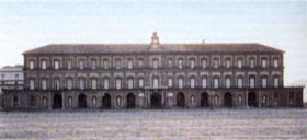 Fachada Meridional - Palacio Real de Nápoles