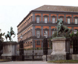 View of the Palace from the 'Bronze Horses'