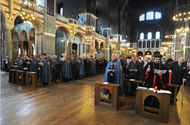 Royal Investiture and Mass at Westminster Cathedral