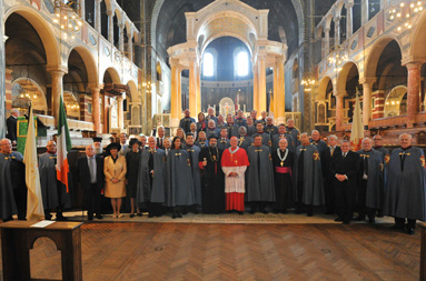 Royal Investiture and Mass held at Westminster Cathedral