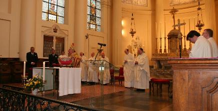 Conferimento di onorificenze a Bruxelles alla presenza di S.A.R. il Principe e Gran Maestro dell'Ordine