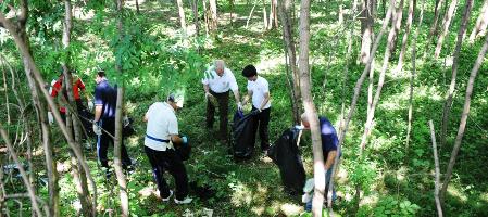 La II edizione della giornata ecologica