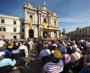 Pellegrinaggio costantiniano al Pontificio Santuario della Beata Vergine Maria di Pompei