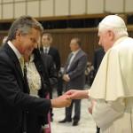 Udienza del Santo Padre Benedetto XVI-3