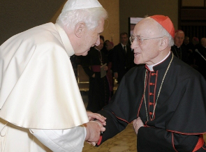SAR el Príncipe y Gran Maestro ha nombrado Su Eminencia Reverendísima a el Señor Cardenal Albert Vanhoye S.J., Eclesiástico de la Casa Real de Borbón de las Dos Sicilias