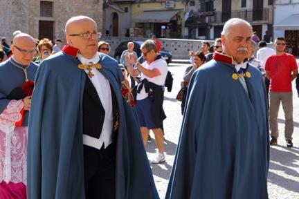 il delegato vicario e S.E. il ConteG. Balboni Acqua