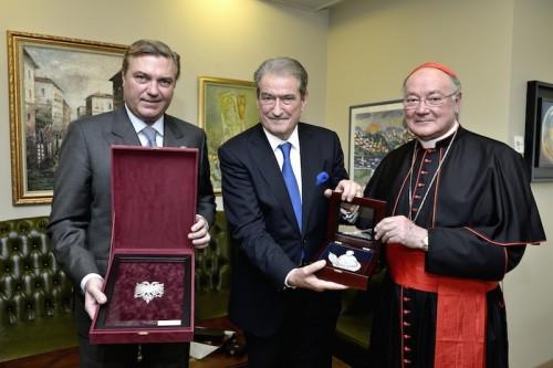 Visite du Prince Charles Bourbon Deux Sicile (Duc de Castro) en Albanie
