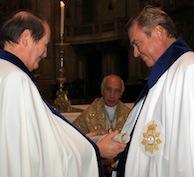 Il Duca di Castro in Portogallo riceve la Gran Croce dell'Ordine Reale dell'Immacolata Concezione di Villa Viçosa