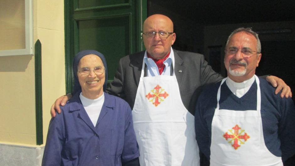Pranzo per i poveri in occasione della festività di San Giuseppe a Palermo