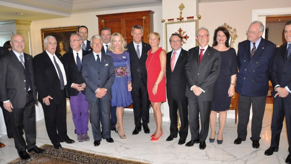 The Monegasque Association announces a charity project and welcomes H.E. Philippe Narmino, Minister of  Justice, amongst the Knights