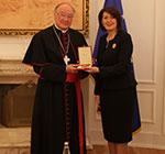 Le Président et le Premier Ministre du Kosovo décorés de l'Ordre Royal de François Ier