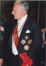 Il 78º Principe e Gran Maestro, Sua Altezza Eminentissima Frà Andrew Bertie