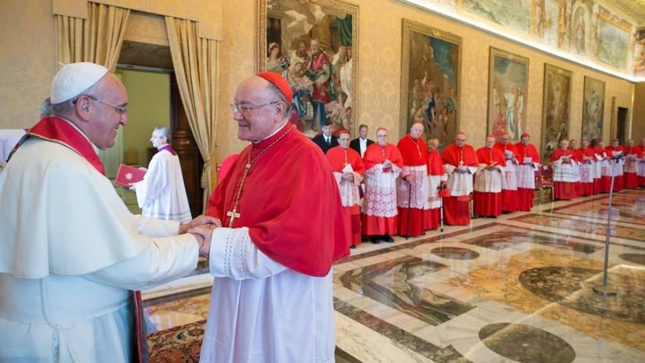 L'Em.mo Cardinale Gran Priore Renato Raffaele Martino nominato Cardinale Protodiacono da Sua Santità Papa Francesco