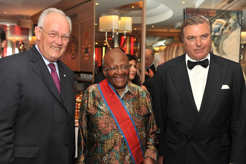 Archbishop Desmond Tutu invested into the Royal Order of Francis I