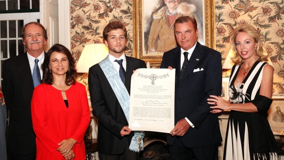 Il Duca e la Duchessa di Castro in visita in  Portogallo (3/ 4/ 5 luglio 2014)