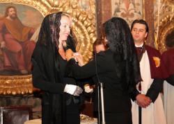 S.A.R. la Duchessa di Castro riceve l'Onorificenza dell'Ordine di Santa Isabel da S.A.R. la Duchessa di Bragança Gran Maestra