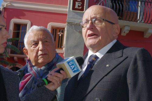 1) da sx il ccordinatore di Messina e prov. con il delegato vicario di sicilia