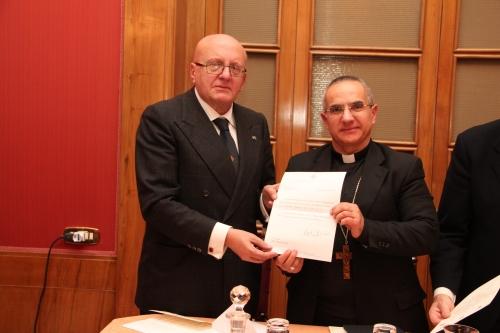 consegna della nomina a Comm. Grazia Ecclesiastica