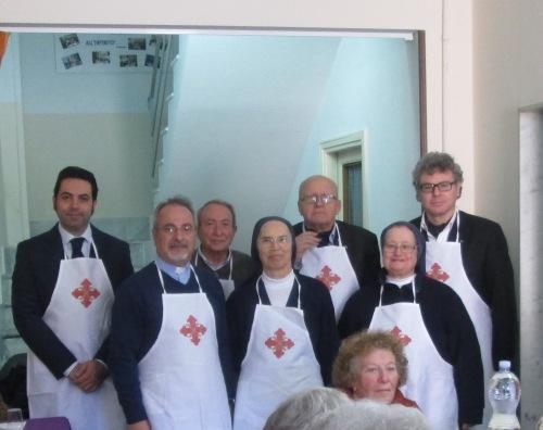 Pranzo di S. Giuseppe a S. Nicolò da Tolentino