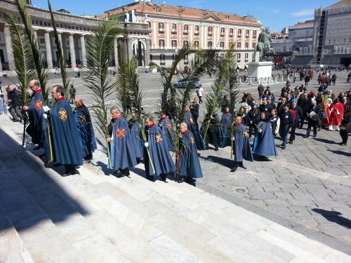 la Processione della Domenica delle Palme
