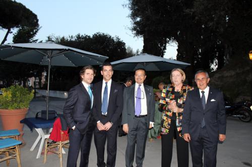 Pierpaolo-Caselli,-Matteo-Gambaro,-Carlo-Guardascione-con-Barbara-Magistrelli,-Diego-Napolitano