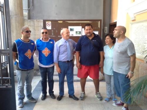 6 agosto 2015 a Napoli, chiesa di S.Lucia a mare