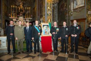 Genova 21 nov '15 Virgo Fidelis & Giornata dell'Orfano
