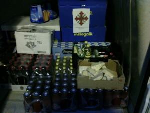 donazione viveri a Minturno e distribuzione2