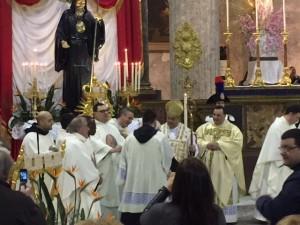 1 aprile con Cardinale Sepe