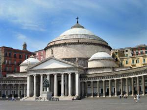 Basilica San Francesco di Paola in piazza del Plebiscito