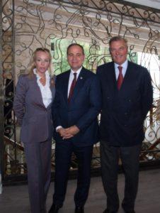 Le LL.AA.RR. i Duchi di Castro hanno incontrato il Presidente della Repubblica di Albania S.E. Bujar Nishani