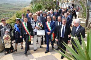 Il Gran Prefetto a Barrafranca (EN)