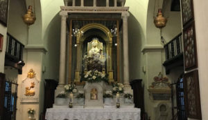 La Chiesa oggi conserva diverse reliquie, tra cui spiccano, accanto all'Altare con la statua lignea della Madonna col bambino del XIII secolo, quella di San Giovanni Paolo II e il cuore di Papa Innocenzo XIII