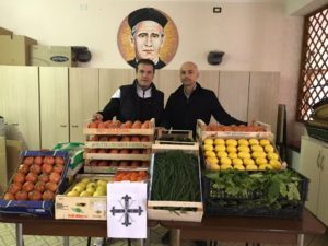 Cav. Francesco Spada e il Maresciallo dei CC Daniele Gavezzoli