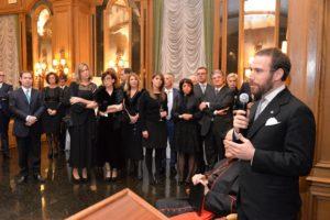 Il Delegato Vicario illustra l'attività benefica svolta dalla Delegazione presso la Mensa di San Giacomo in Augusta