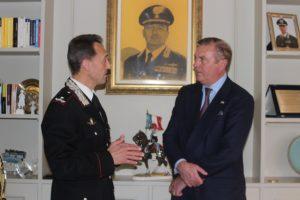 Incontro tra il Principe Carlo di Borbone e il Generale di Brigata Riccardo Galletta