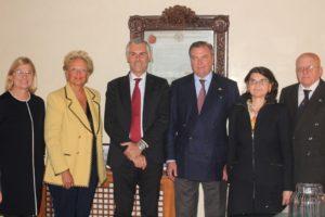Incontro tra il Principe Carlo di Borbone e il Rettore dell'Università di Palermo Prof. Fabrizio Micari