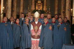celebrazione religiosa acireale col Gran Prefetto