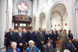 The Constantinian delegations participates in the Solemn Mass