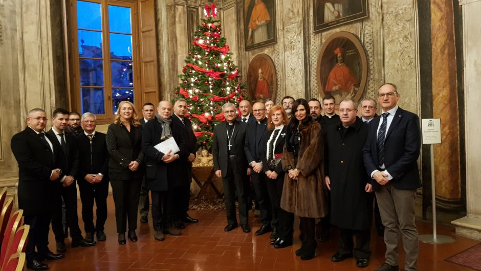 LOMBARDY: MEETING WITH THE BISHOP OF BRESCIA
